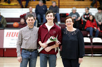 Carmi vs Fairfield - Senior Recognition 02/15/2019